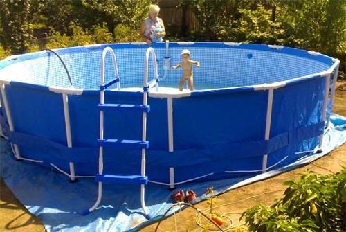 Построить бассейн своими руками недорого