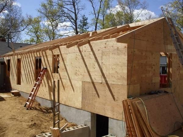 Садовые домики строим своими руками 57