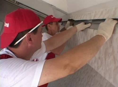 Как сделать навесной потолок самому