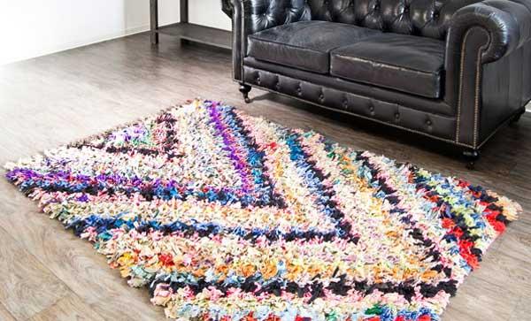 Детские коврики своими руками из старых вещей