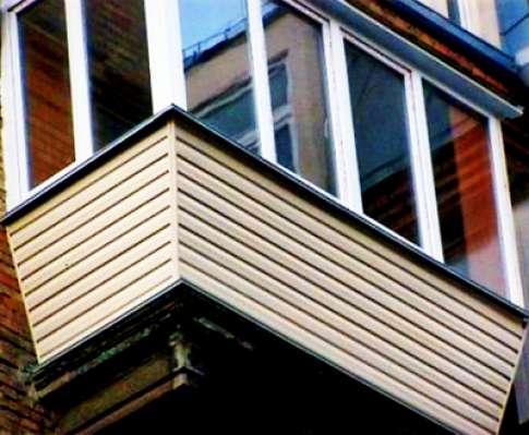 Обшивка сайдингом балкона своими руками.