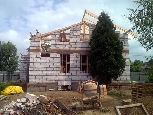 Строительство домов из сибита